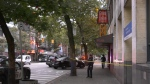 Police responded to a shooting on Vancouver's Downtown Eastside on Monday.
