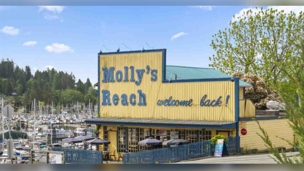 'Beachcombers' restaurant 'Molly's Reach' is up for sale