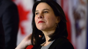 "Montreal Mayor Valérie Plante, as seen in this file photo, said the project will highlight ""the contribution of Montrealers from all walks of life, who have opened doors in areas where women were generally excluded."" THE CANADIAN PRESS/Sean Kilpatrick"