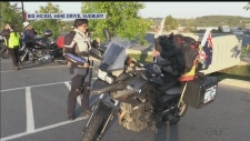 READ and WATCH: Female bikers on a year-long motorcycle relay around the world make a pit stop in Sudbury. Dana Roberts reports.