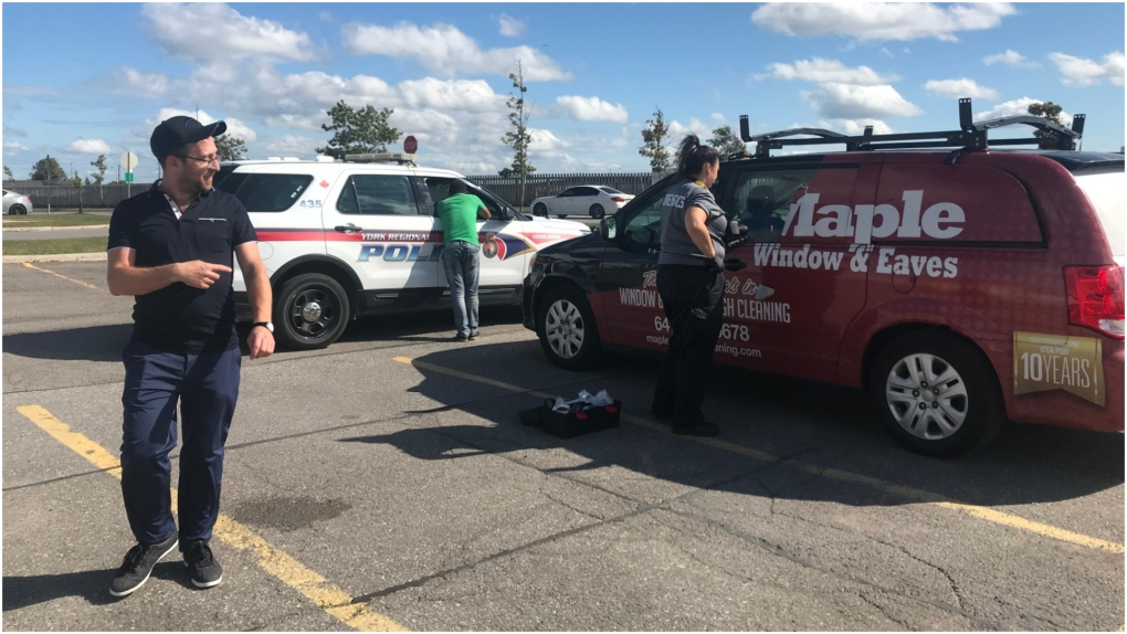 Four people in custody after Vaughan man leads police to his stolen van via GPS