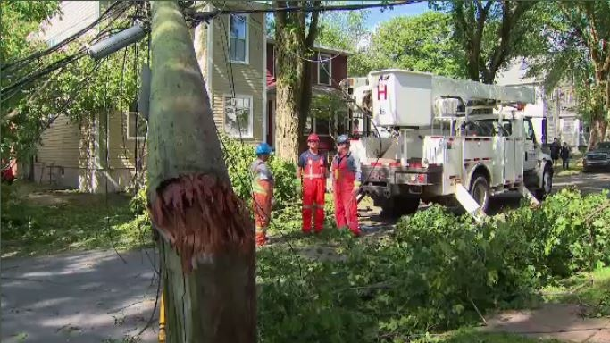 Approximately 1,400 Nova Scotia Power employees worked day and night to reconnect electricity after Hurricane Dorian.