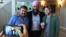 CTV National News: Singh visits New Brunswick