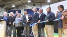 Ribbon cutting ceremony at Newmont Goldcorp's new all-electric Borden Gold Mine near Chapleau, Ont. (Sergio Arangio/CTV Northern Ontario)