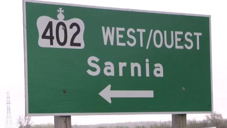 Highway 402 London to Sarnia