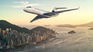 Bombardier Global 6500 business jet (image: Bombardier)