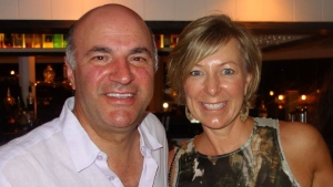 Kevin and Linda O'Leary. (Source: Kevin O'Leary / Facebook)