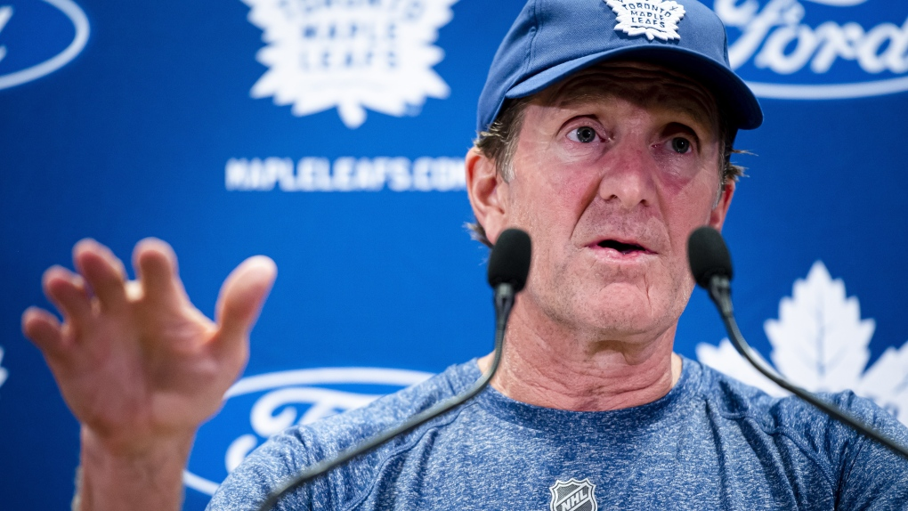 Toronto Maple Leafs head coach Mike Babcock