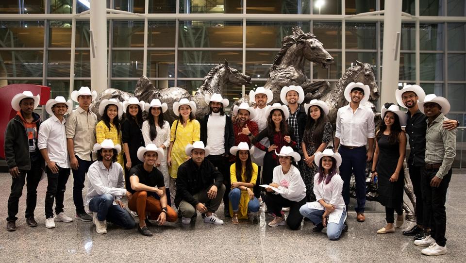 Taj Express, Alberta Ballet, white hat, YYC