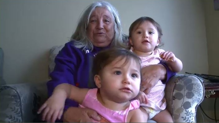 Cassidy Bernard left behind twin girls, who are now 17 months old, and in the care of their grandmother, Mona Bernard.