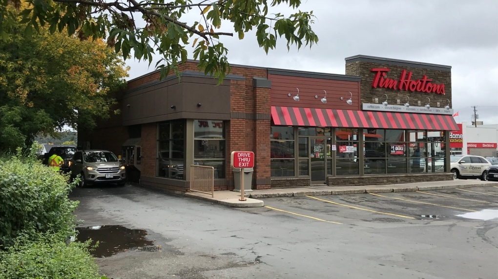 Fredericton takes next step to deal with traffic congestion at Tim Hortons drive-thru