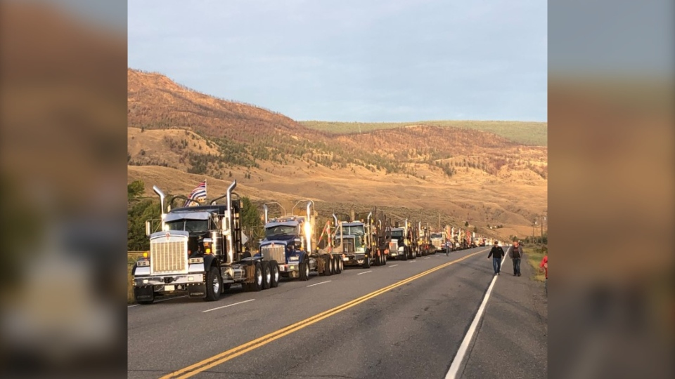 Forestry convoy