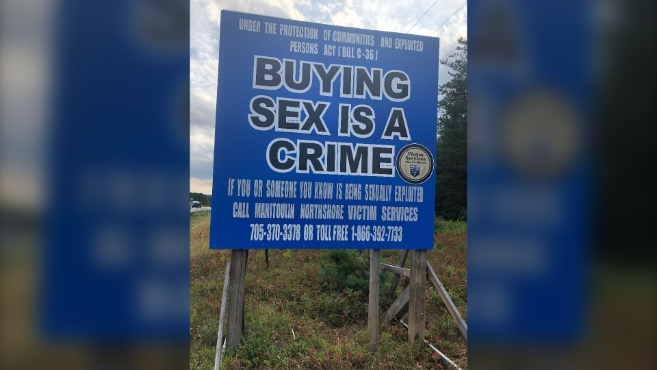 Billboard takes aim at people who buy sex