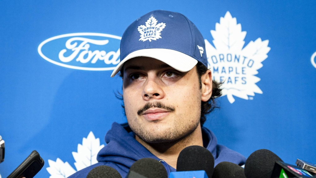 Leafs star Auston Matthews tests positive for COVID-19