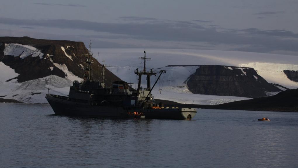 russian navy ship