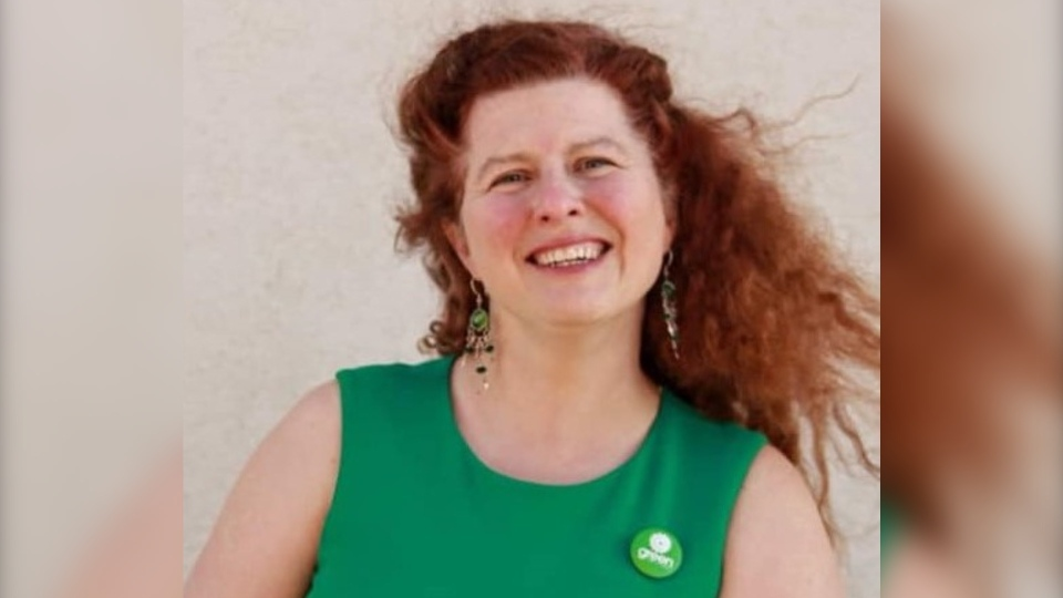 Naomi Hunter, the Green Party of Canada candidate for Regina-Lewvan. (Courtesy: The Green Party of Canada)