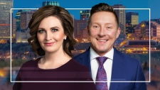 Erin Isfeld Josh Classen CTV News at Six