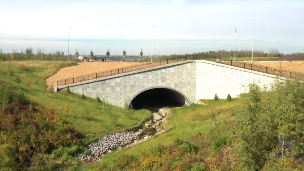 New bridge links industry to ring road and oil sands