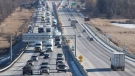 A highway in Toronto is seen in this undated file photo. (CTV News Toronto)