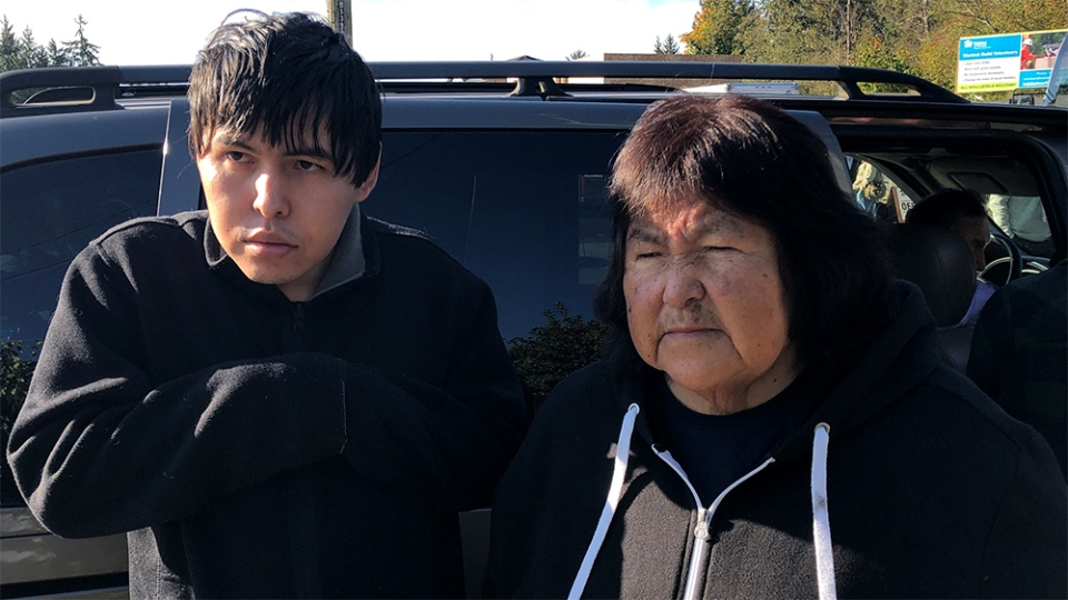 Betty Nicolaye says the B.C. housing crisis has forced her family of five to live out of a van.