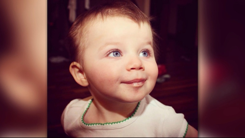 22-month-old Mackenzy Woolfsmith died in a private day home in 2012