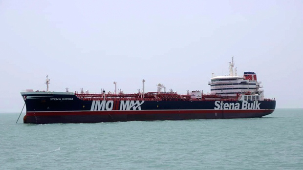 Iran says 2 rockets hit tanker off Saudi coast