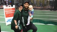 Madison and Cory, Marathon of Sport