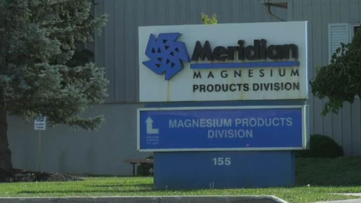 The Meridian facility in Strathroy, Ont. is seen on Thursday, Sept. 26, 2019. (Marek Sutherland / CTV London)