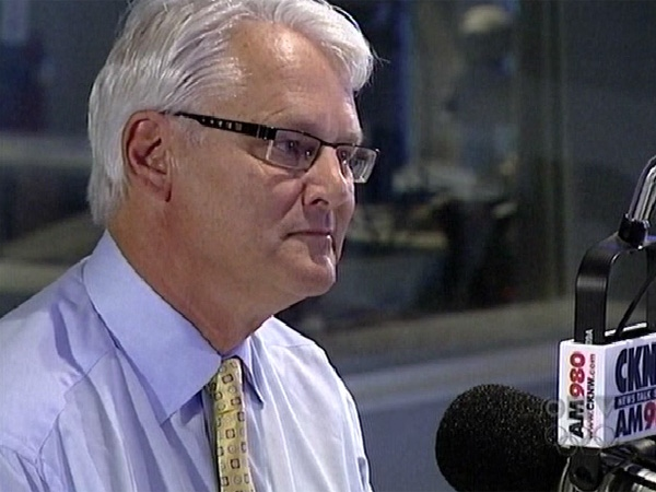 B.C. Premier Gordon Campbell answers questions from callers on Bill Good's CKNW radio show on August 31, 2009.