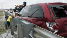 calgary, snow, crashes, police, southwestern alber