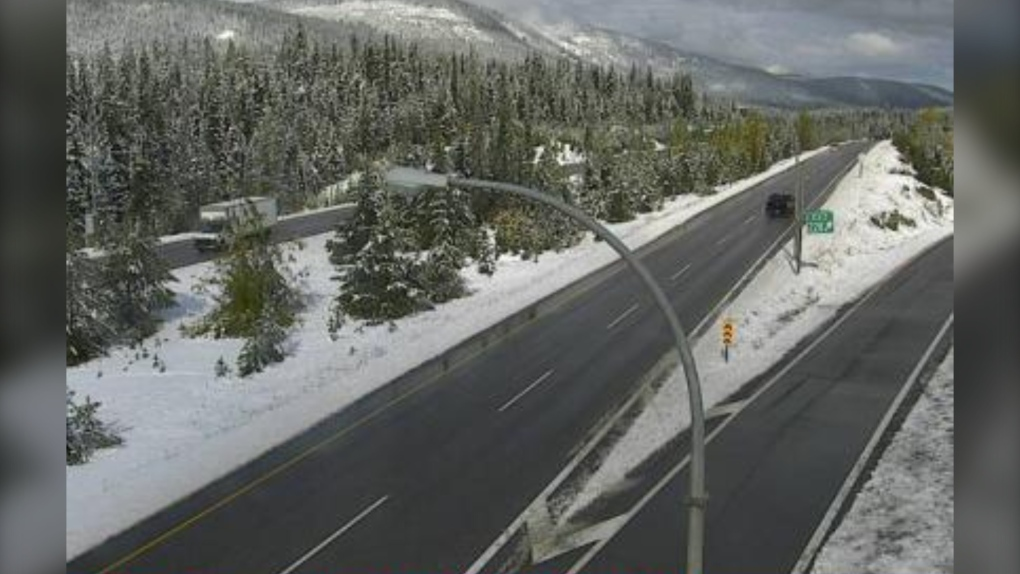 September snow Coquihalla