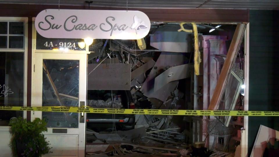 Su Casa Spa langley crash