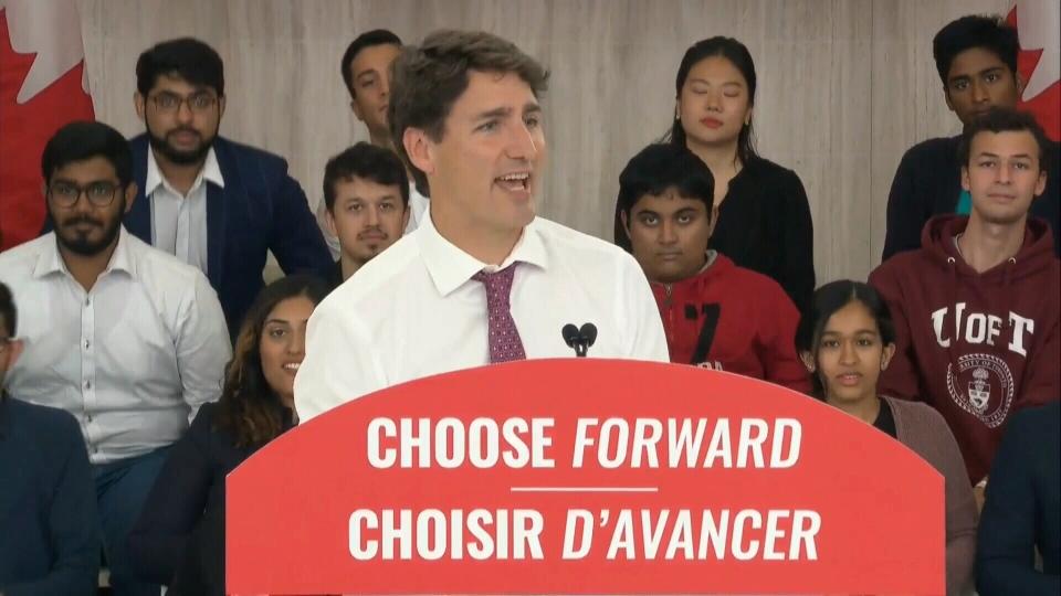Justin Trudeau, Liberal event, Sept. 29, 2019