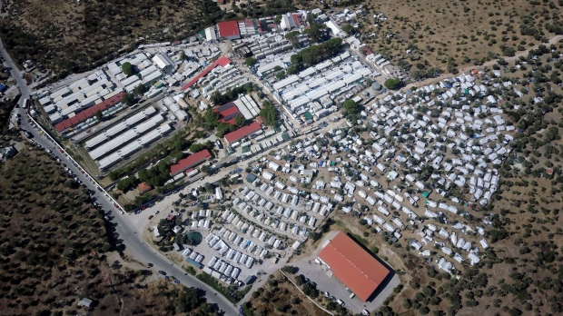 'Moria is hell': Asylum seekers protest conditions at Greek camp