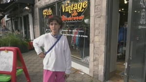 Alex Mondry from the Floh Shoppe said many of her neighbouring store owners had closed