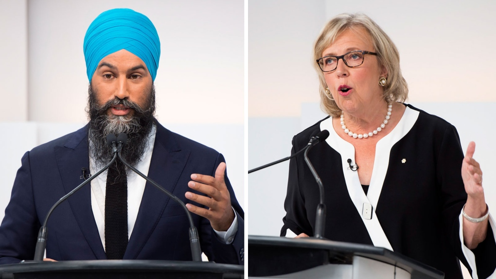 Jagmeet Singh told to 'cut off' turban while campaigning in Montreal