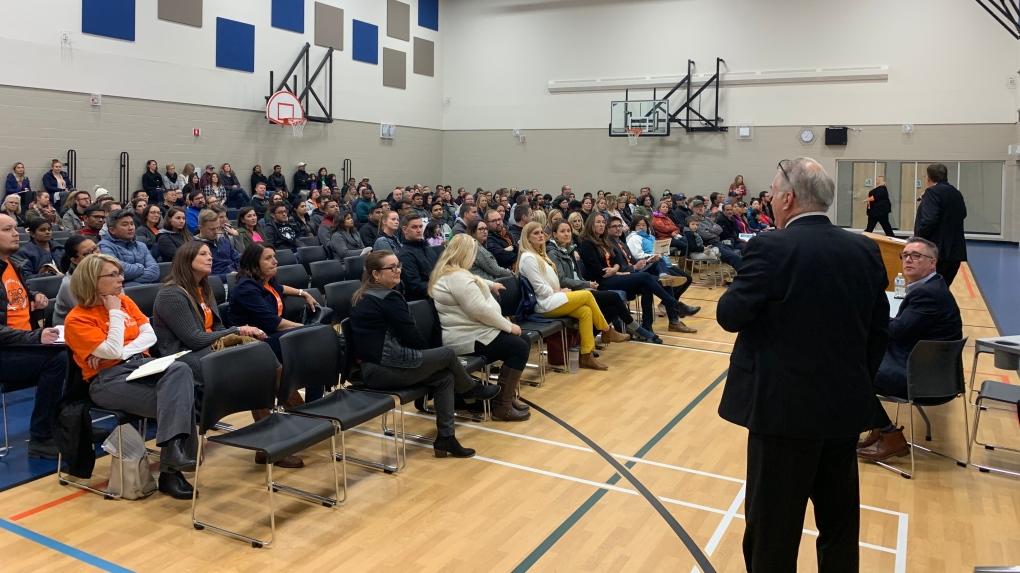 Regina Public Schools meeting