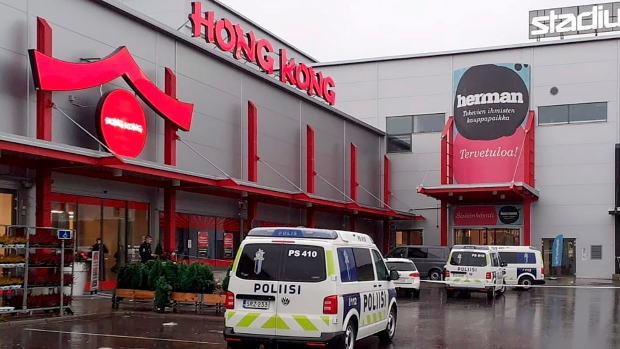 Nine people are injured in 'violent incident' at shopping mall in Finland