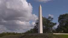 Hill 70 monument