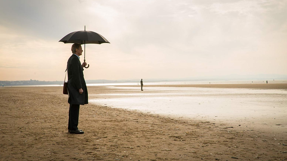 Bill Nighy can be seen in this scene from the movie, 'Sometimes Always Never.' (Blue Fox Entertainment)