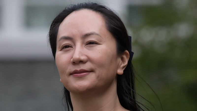 Huawei chief financial officer Meng Wanzhou, who is out on bail and remains under partial house arrest after she was detained last year at the behest of American authorities, leaves her home to attend a court hearing in Vancouver on Oct. 2, 2019. THE CANADIAN PRESS/Darryl Dyck