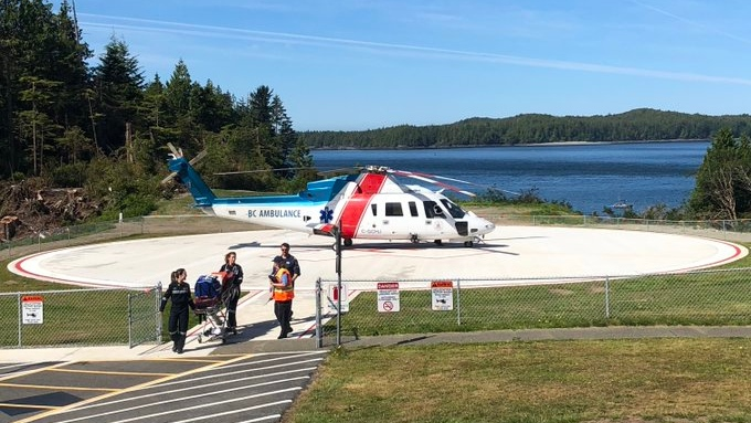 Helipad opens at Tofino General Hospital after 8-year wait