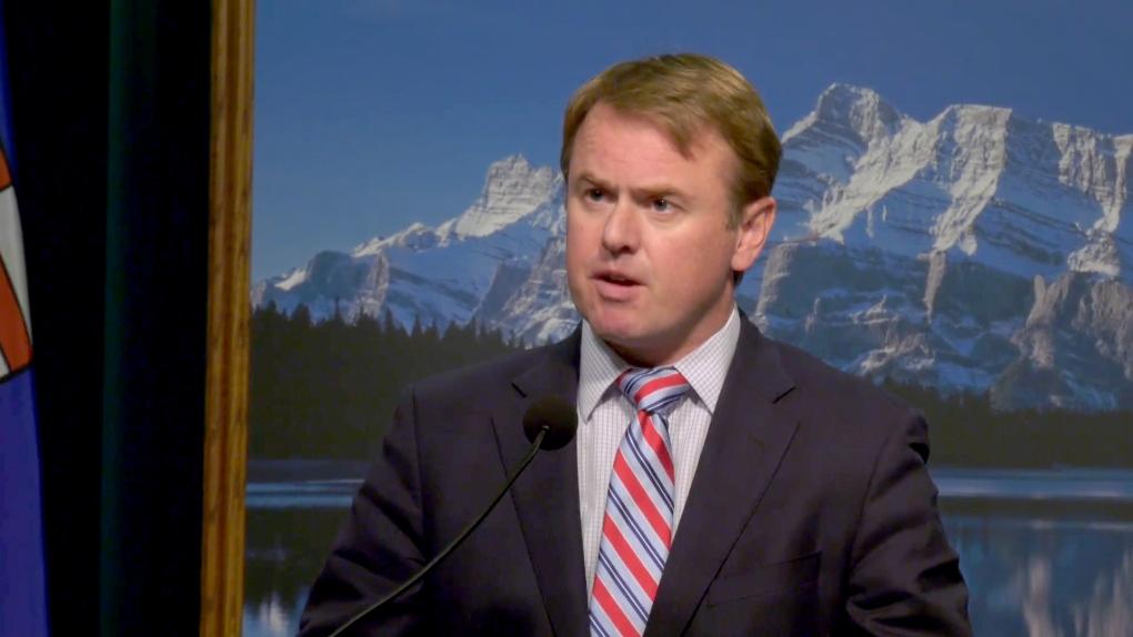 Health Minister Tyler Shandro