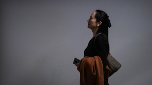 Huawei chief financial officer Meng Wanzhou, who is out on bail and remains under partial house arrest after she was detained last year at the behest of American authorities, arrives at B.C. Supreme Court to attend a hearing, in Vancouver, on Wednesday October 2, 2019. THE CANADIAN PRESS/Darryl Dyck