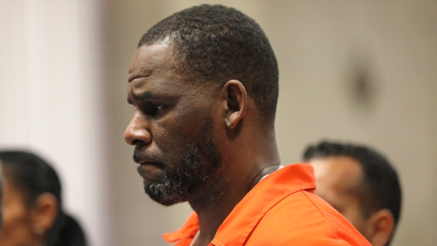 In this Sept. 17, 2019 file photo, R. Kelly appears during a hearing at the Leighton Criminal Courthouse in Chicago. (Antonio Perez/ via AP Pool, File)