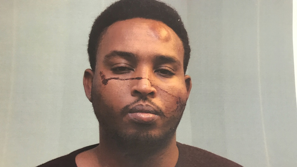 Abdulahi Hasan Sharif, accused of stabbing a police officer and running down pedestrians in a vehicle, appears in an undated image distributed in court Wednesday, Oct. 2, 2019.