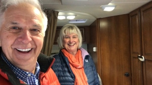 Dawn and Paddy Moore are making extra cash by renting their RV.