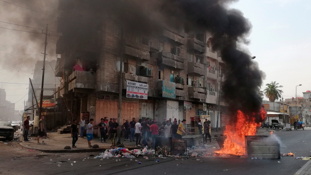 9 dead, hundreds wounded in Iraq protests