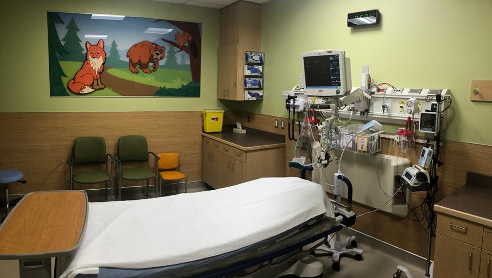 Pediatric, pod, South Health Campus, AHS