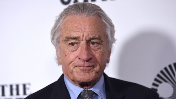 "Robert De Niro attends the world premiere of ""The Irishman"" at Alice Tully Hall during the opening night of the 57th New York Film Festival on Friday, Sept. 27, 2019, in New York. (Photo by Evan Agostini/Invision/AP)"